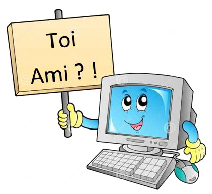 Toi ami dit l ordinateur copie